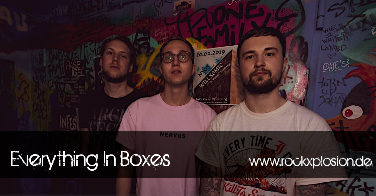 Everything In Boxes auf dem rockXplosion 2019 Festival