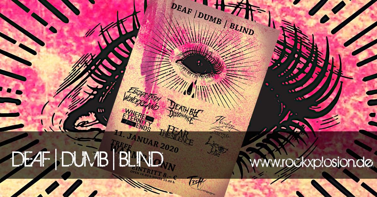 Veranstaltungs - DEAF DUMB BLIND im Treff Warmbronn