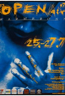 13. Plakat 1997 Open Air Warmbronn